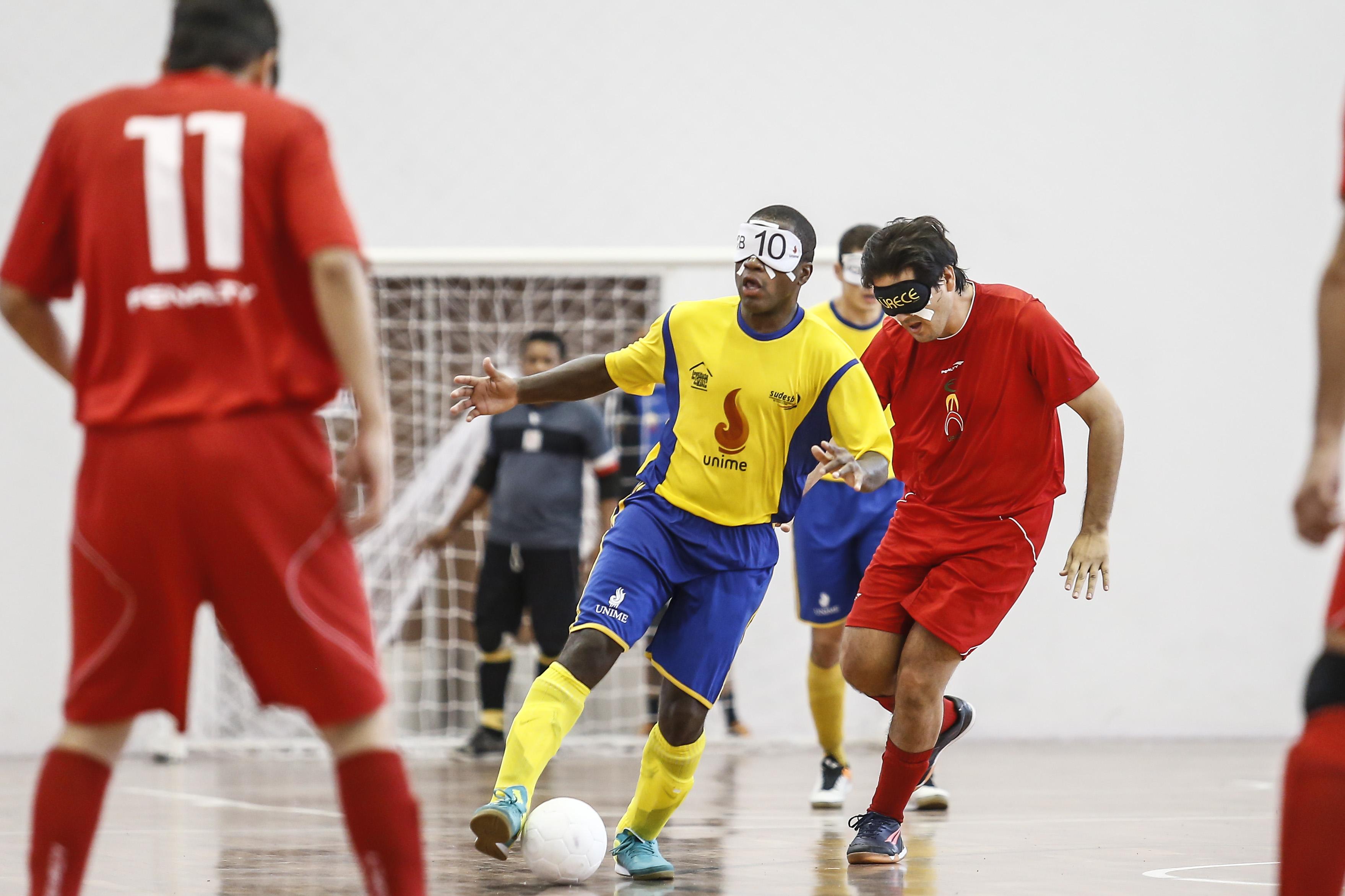 Copa Loterias Caixa de futebol de cegos será realizada de 3 a 8 de outubro  na capital baiana com 12 equipes de nove Estados e670a724e8a6e